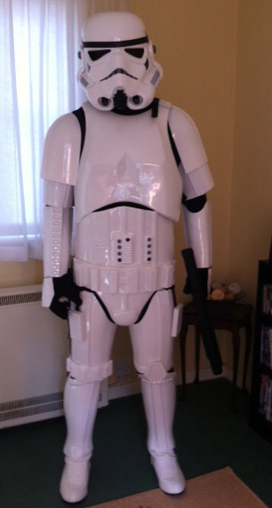 stormtrooper steve armor replacement ready to wear costume review