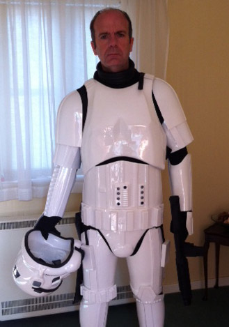 steve stormtrooper costume armour review