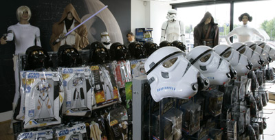 Star Wars Costumes and Toys