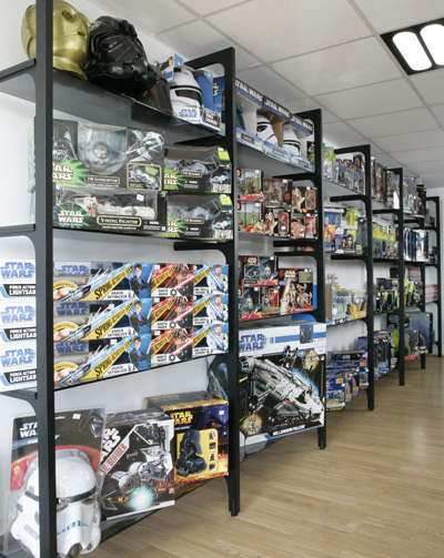 100's of Original New Star Wars Toys