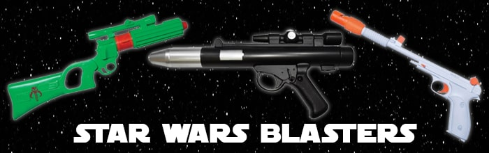 Star Wars Blasters available at www.Jedi-Robe.com - The Star Wars Shop....