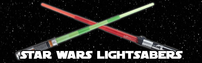 Star Wars Lightsabers available at www.Jedi-Robe.com - The Star Wars Shop....