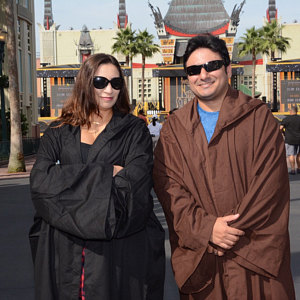 Review of Star Wars Jedi and Sith robes for him and her by Sadie