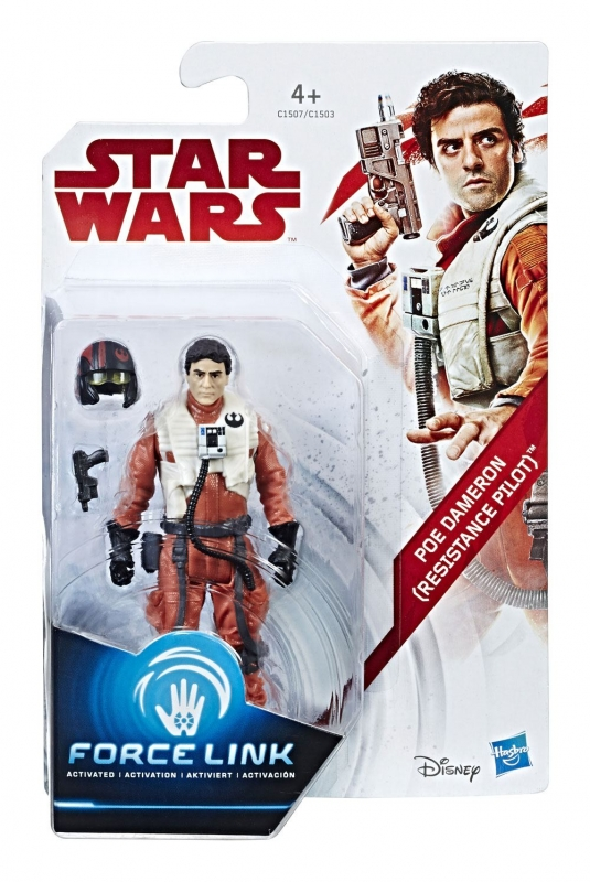 Star Wars Action Figure - Poe Dameron (Resistance Pilot) - The Last Jedi