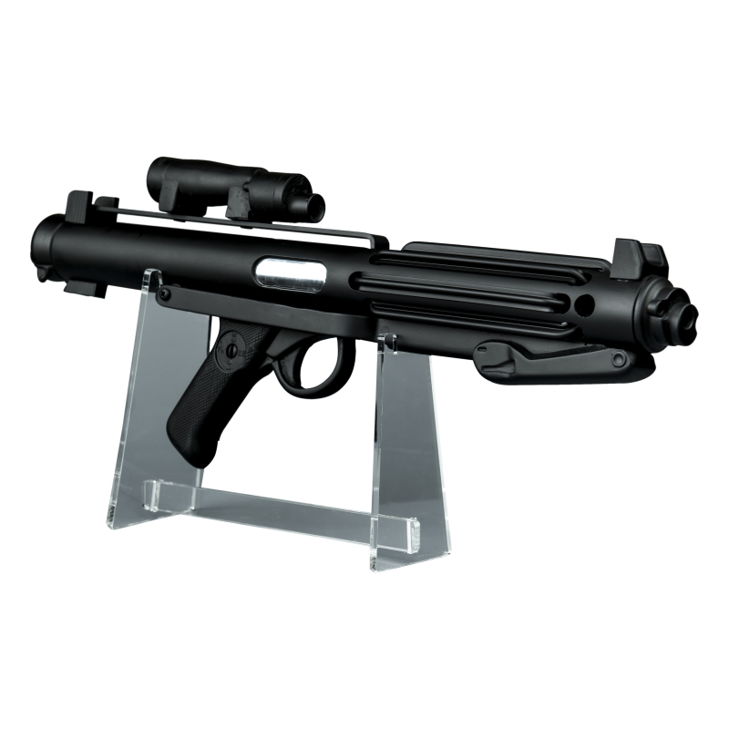 Star Wars Stormtrooper E11 Blaster - Screen Accurate Replica Prop with FREE STAND