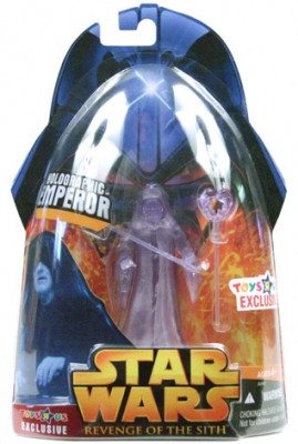 Star Wars Action Figure - Holographic Emperor (Toys R Us Exclusive)