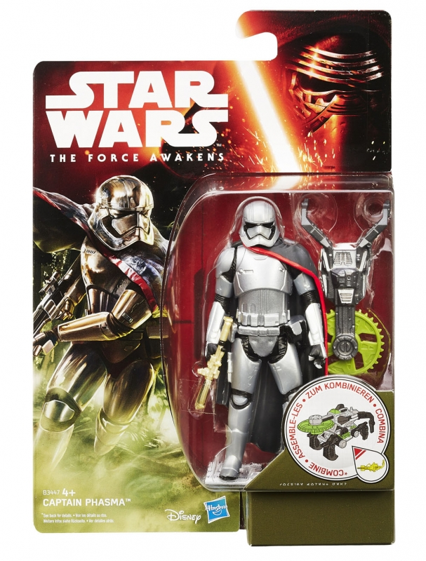 Star Wars Action Figure - The Force Awakens - Jungle Space - Captain Phasma