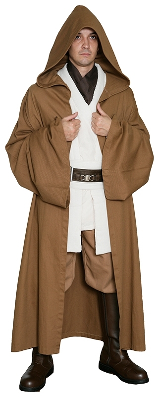 Star Wars Obi Wan Kenobi Light Brown Robe ONLY