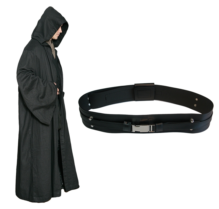 Star Wars Black Sith Robe with Sith Belt