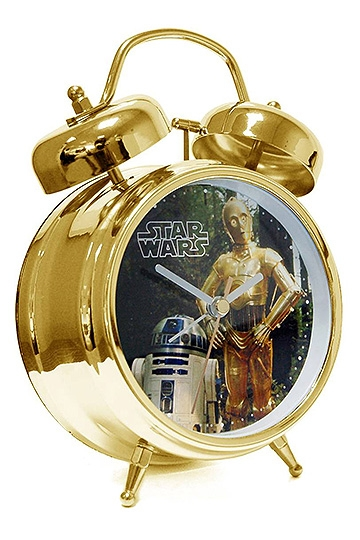 Star Wars Gifts and Games - Star Wars Alarm Clock with Sound - R2-D2 + C-3PO