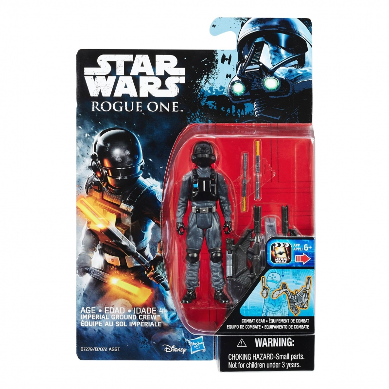 Star Wars Action Figure - Rogue One - Star Wars Universe - Imperial Ground Crew