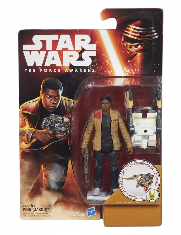 Star Wars Action Figure - The Force Awakens - Snow Desert - Finn - Jakku