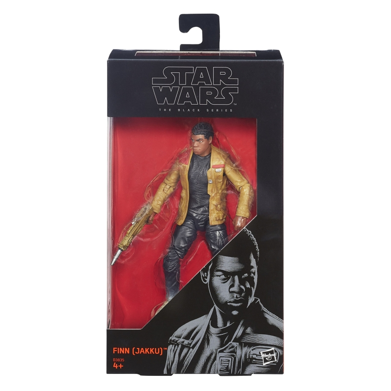 Star Wars 6 inch Figure - The Force Awakens Black Series - Finn (Jakku)