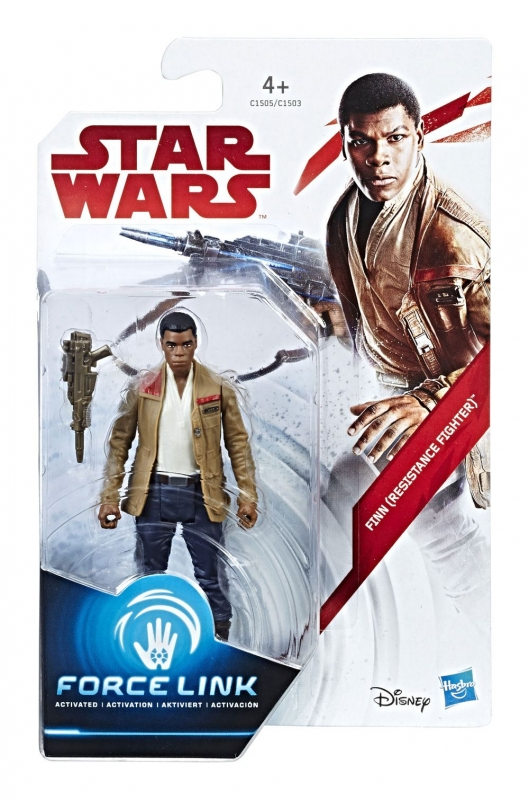 Star Wars Action Figure - Finn (Resistance Fighter) - The Last Jedi