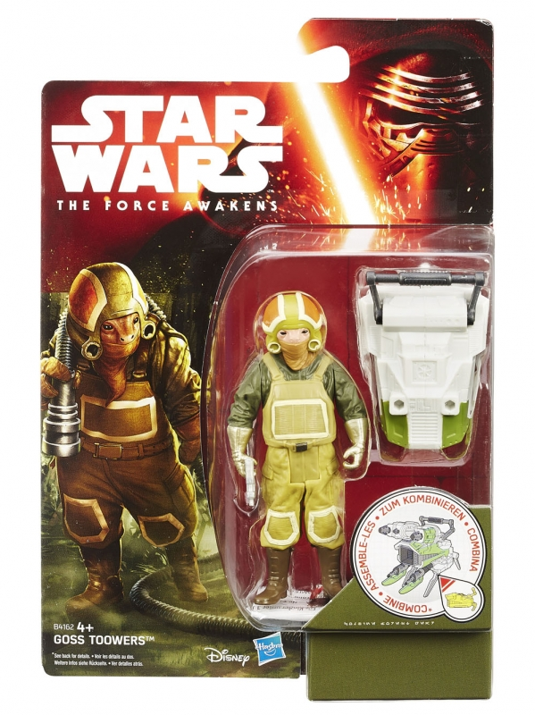 Star Wars Action Figure - The Force Awakens - Jungle Space - Goss Toowers