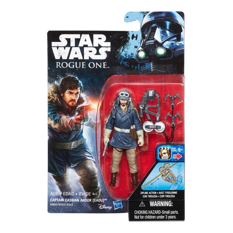 Star Wars Action Figure - Rogue One - Star Wars Universe - Captain Cassian Andor - Eadu