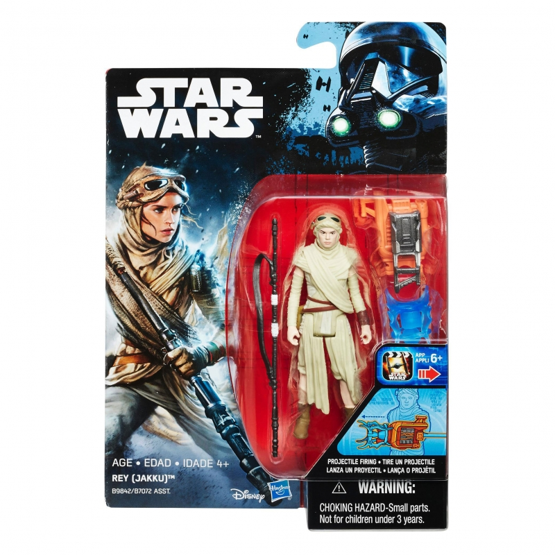 Star Wars Action Figure - Rogue One - Star Wars Universe - Rey - Jakku