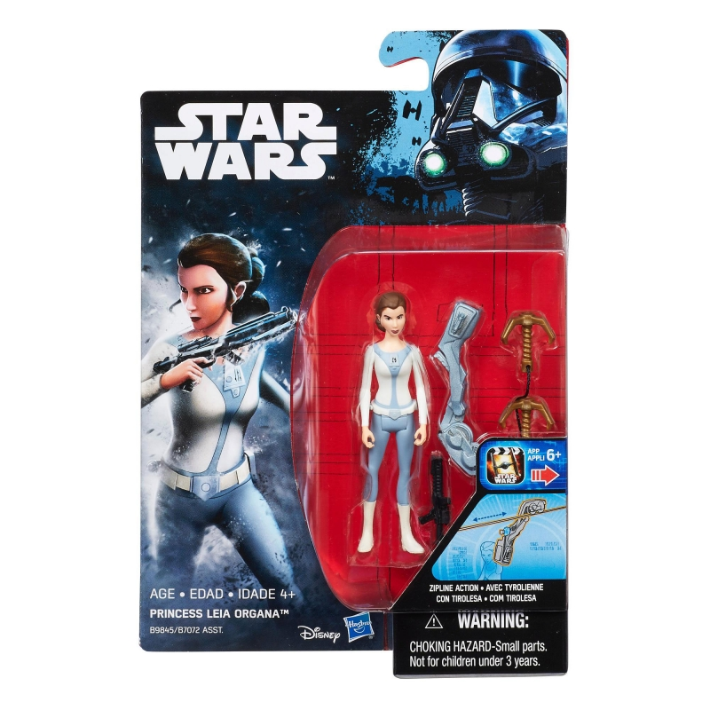 Star Wars Action Figure - Rogue One - Star Wars Universe - Princess Leia Organa