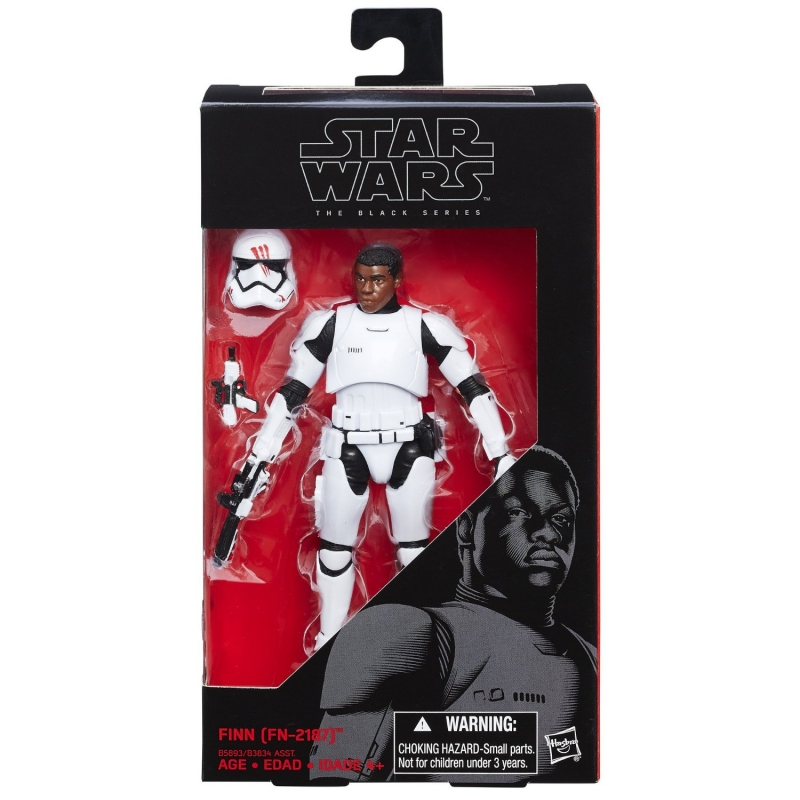 Star Wars 6 inch Figure - The Force Awakens Black Series - Finn (FN-2187)
