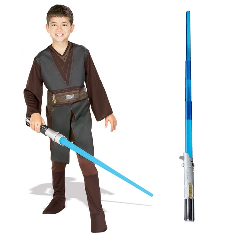 Star Wars Costume Child Lightsaber Bundle - Anakin Skywalker