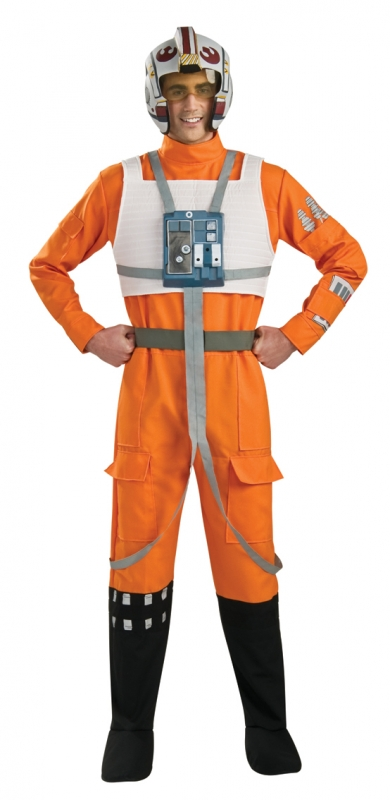 Star Wars Costume Deluxe Adult- X-Wing Fighter Pilot