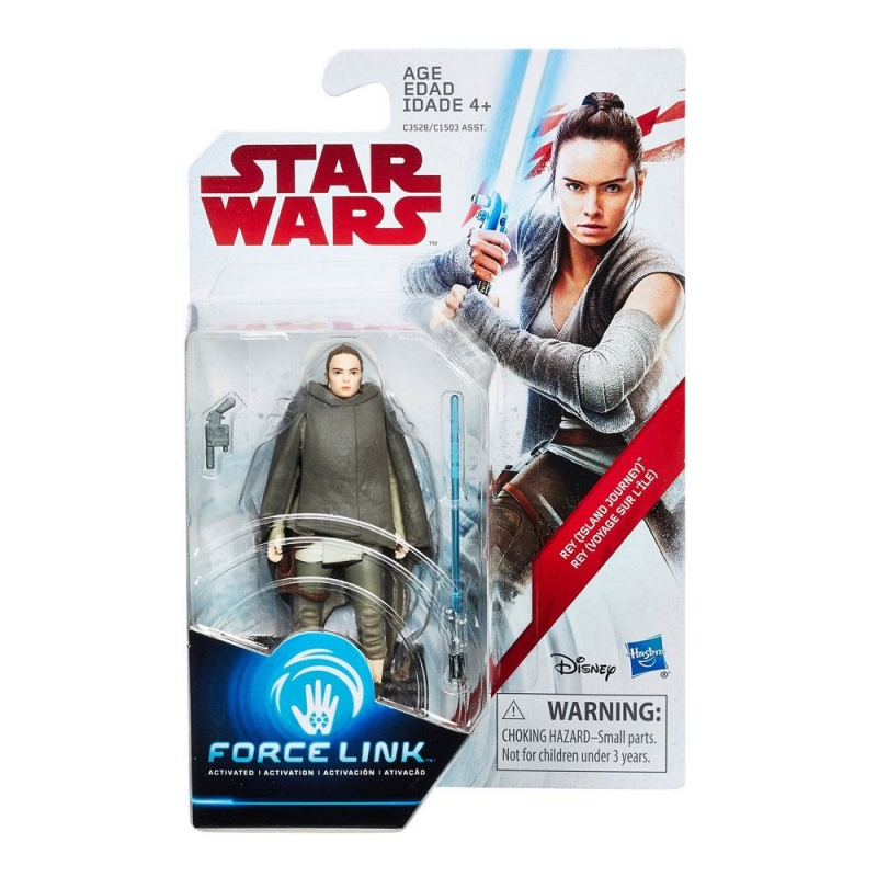 Star Wars Action Figure - Rey (Island Journey) - The Last Jedi