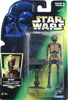 Star Wars Action Figure - EV-9D9 with Datapad