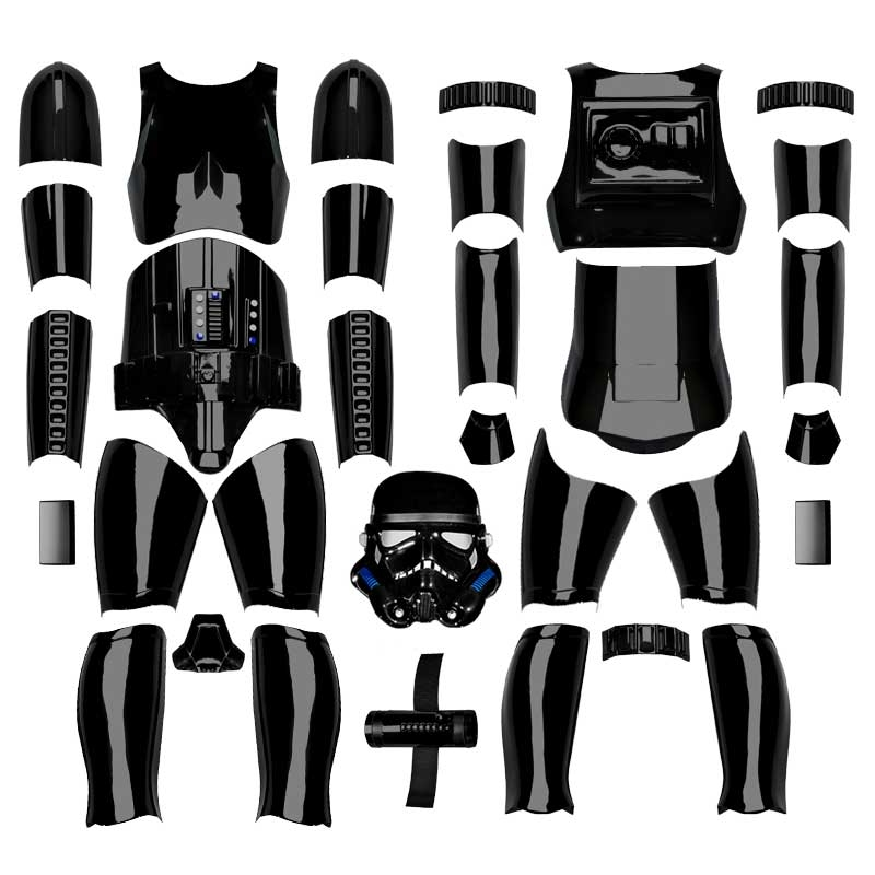 Star Wars Shadowtrooper Costume Armour Kit Version 2 - with Helmet