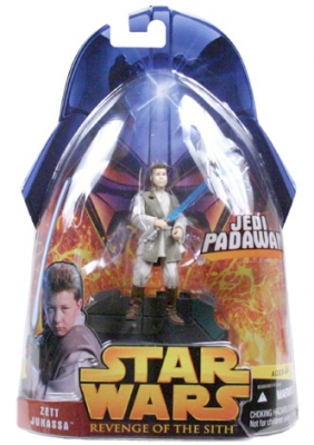 Star Wars Action Figure - Zett Jukassa (Jedi Padawan)