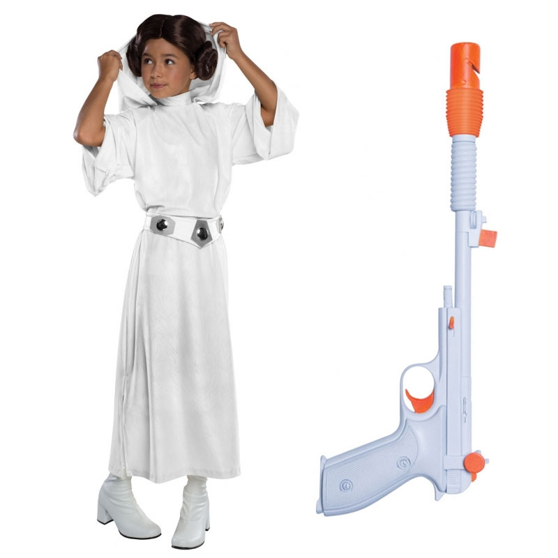 Star Wars Costume Child Blaster Bundle - Princess Leia