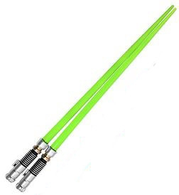 Star Wars Chopsticks - Luke Skywalker - Green