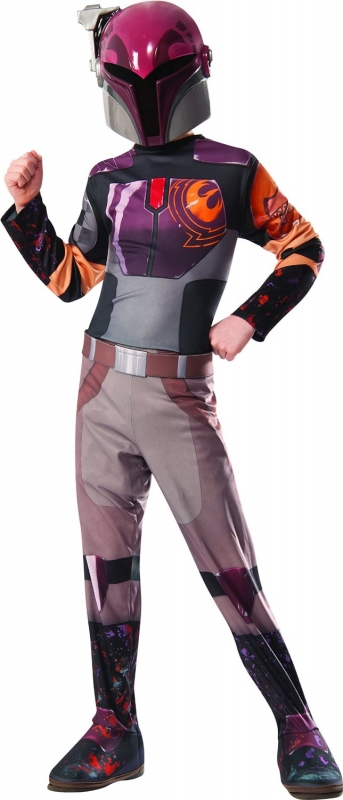 Star Wars Costume Deluxe Child - Sabine Wren - Rebels