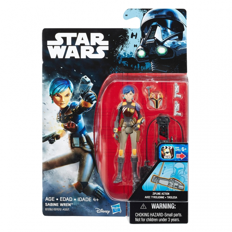 Star Wars Action Figure - Star Wars Universe - Sabine Wren