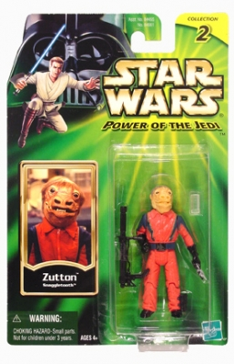 Star Wars Action Figures - Zutton Snaggletooth - Power of the Jedi