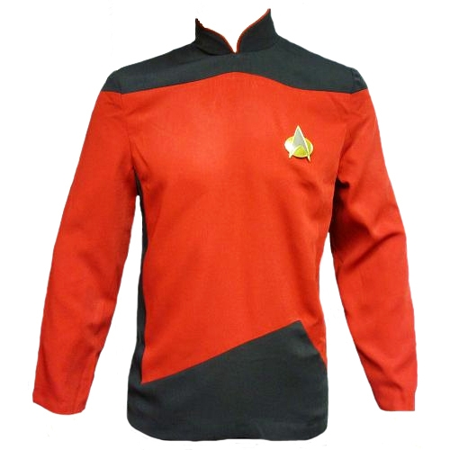 Star Trek Adult Costumes - The Next Generation Red Tunic