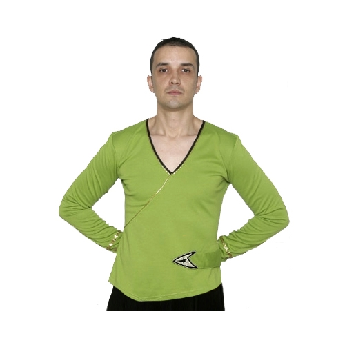 Star Trek Adult Costumes - Classic Captain Kirk Green Shirt
