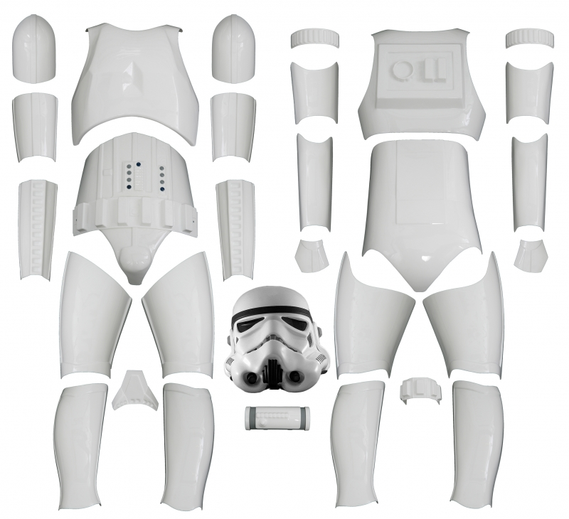 Star Wars Stormtrooper Costume Armour Kit Version 2 - with Helmet  sc 1 st  Jedi-Robe.com & STAR WARS : Costumes and Toys : Star Wars Stormtrooper Costume ...