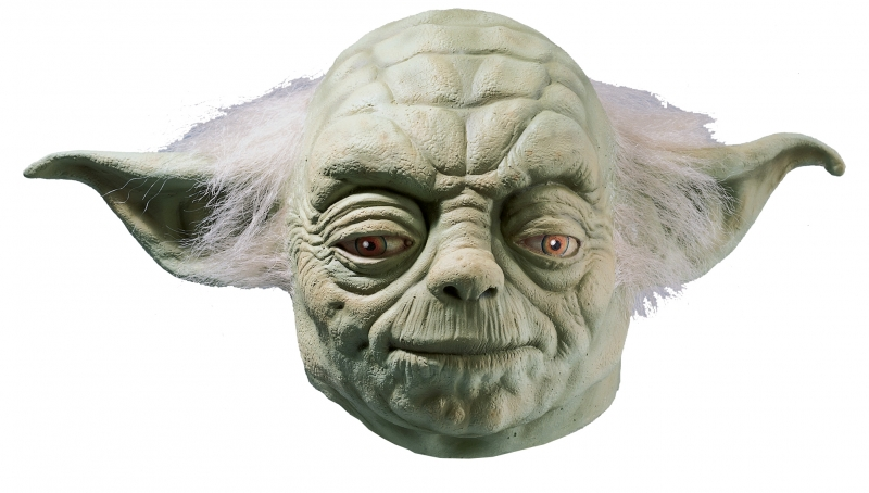 Star Wars Costume Yoda Latex Mask