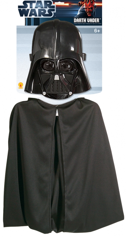 Star Wars Costume - Darth Vader Cape and Mask