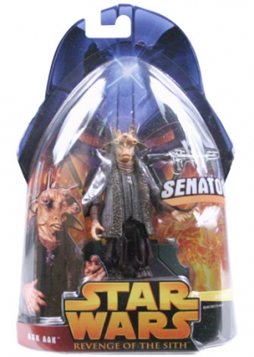 Star Wars Action Figure - Ask Aak (Senator)