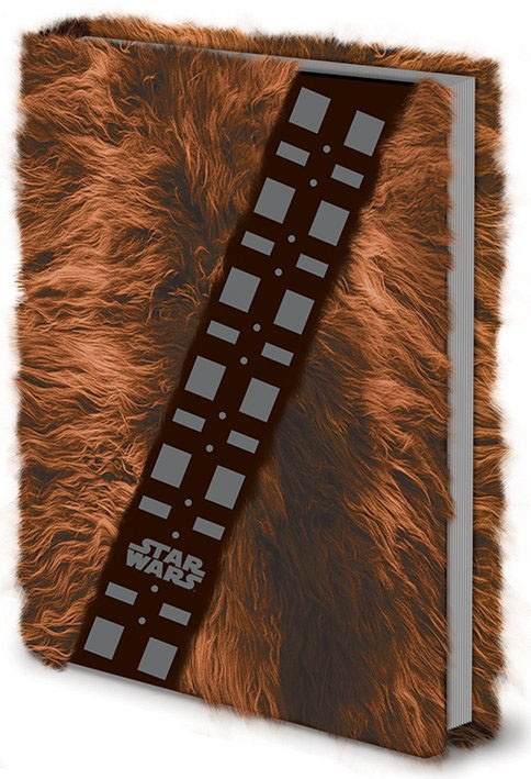 Star Wars Gifts and Games - Star Wars Premium Notebook A5 Chewbacca Fur