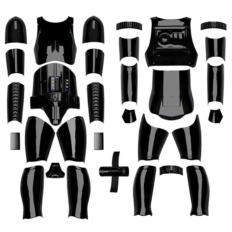 Star Wars Shadowtrooper Costume Armour Kit Version 1 - No Helmet