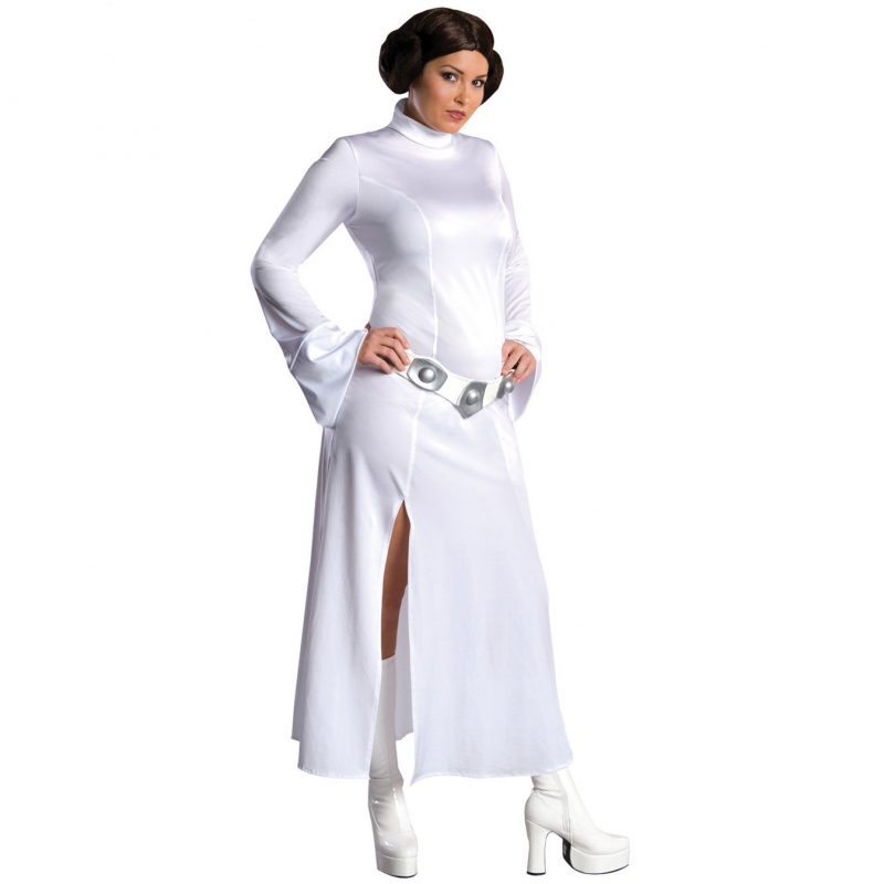 Star Wars Costume Adult - Princess Leia Sexy Dress - PLUS SIZE