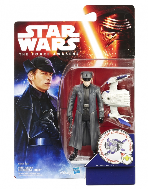 Star Wars Action Figure - The Force Awakens - Jungle Space - First Order General Hux