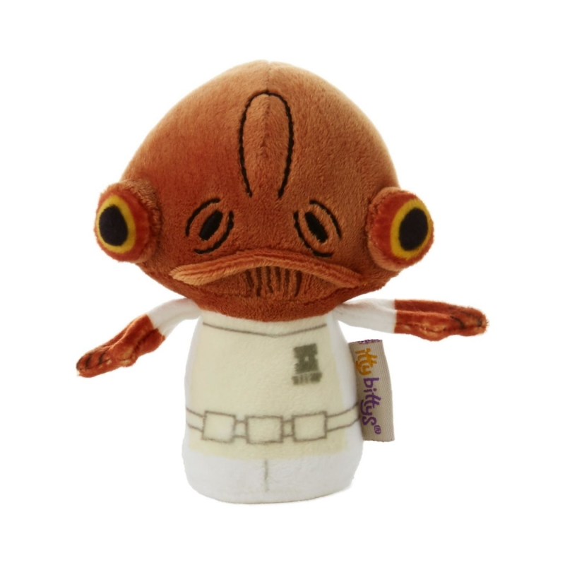 Star Wars Gift Itty Bitty Collectable Plush - Admiral Ackbar