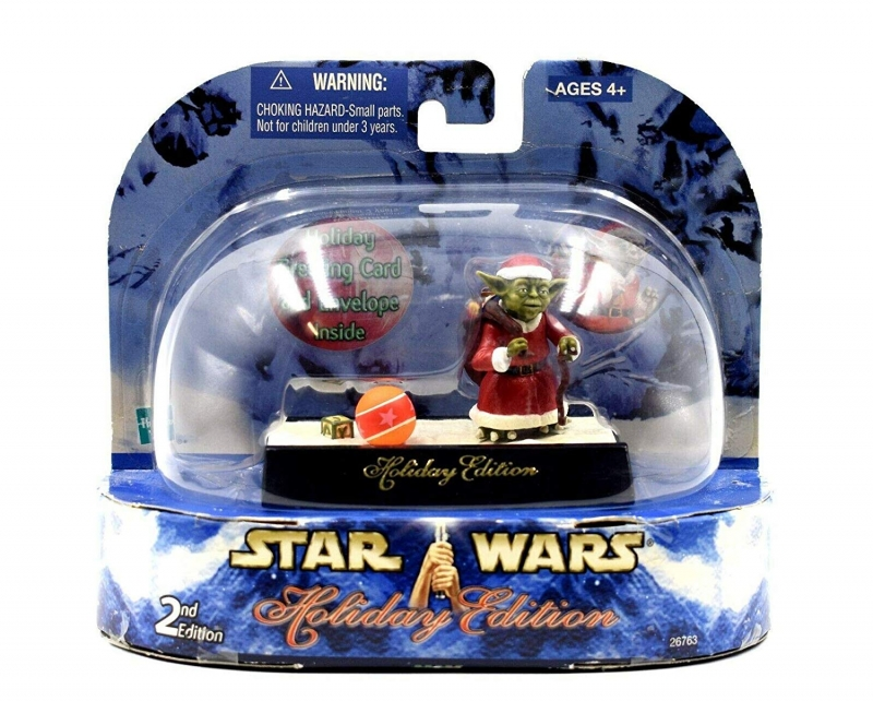 Star Wars Holiday Edition Yoda Action Figure