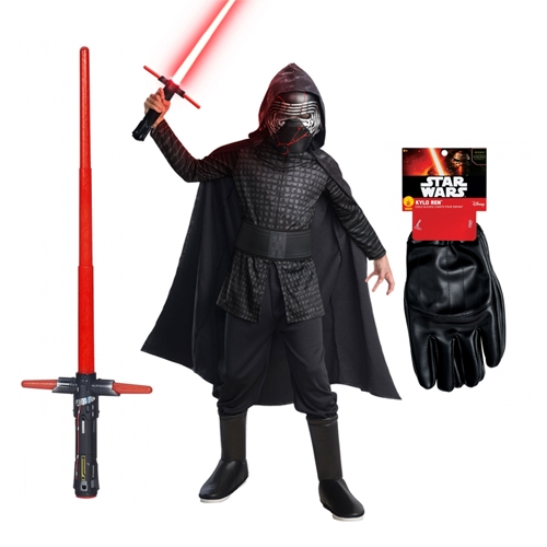 Star Wars Costumes And Toys Star Wars Costume Child Bargain Bundle Kylo Ren The Rise Of Skywalker