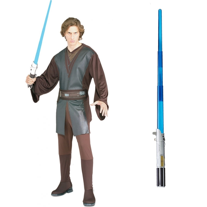 Star Wars Costume Adult Lightsaber Bundle - Anakin Skywalker