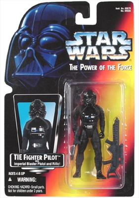 Star Wars Action Figure - TIE Fighter Pilot - Imperial Blaster Pistol and Rifle