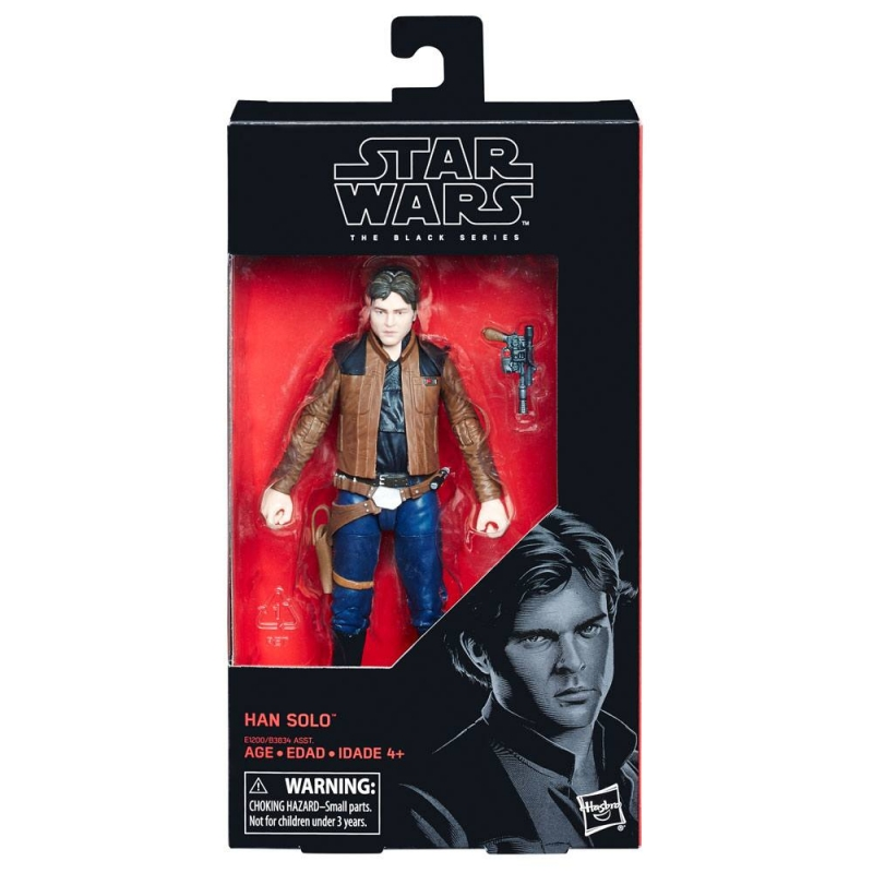 Star Wars 6 inch Figure - Solo: A Star Wars Story Black Series - Han Solo